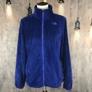 The North Face Deep Fleece Zip Up Jacket size L